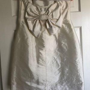 Aqua Dresses - Aqua mini dress w bow!